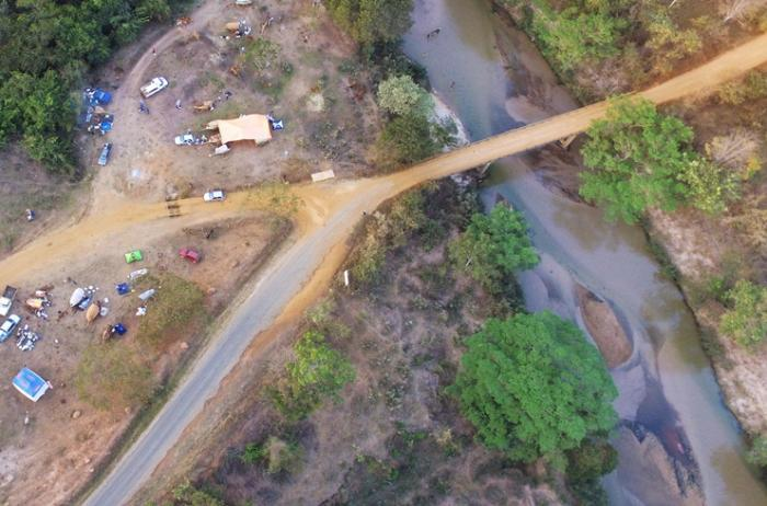 Rio da Prata no município de Presidente Olegário agoniza e pede socorro