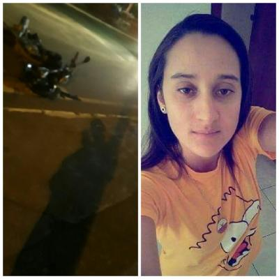 Acidente envolvendo carro e moto deixa jovem gravemente ferida em Carmo do Paranaíba
