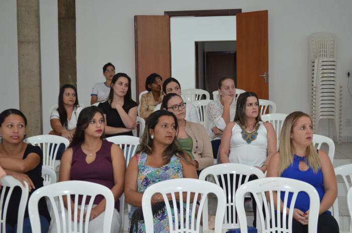 Curso para gestantes do NASF de Lagoa Formosa é realizado na casa da cultura