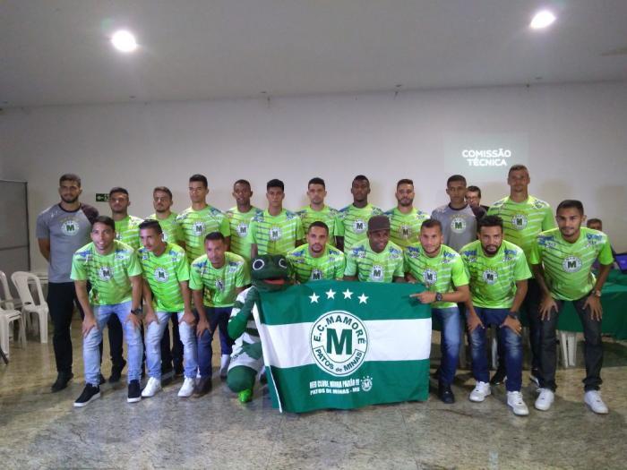 Mamoré apresenta jogadores e comissão técnica da temporada 2018