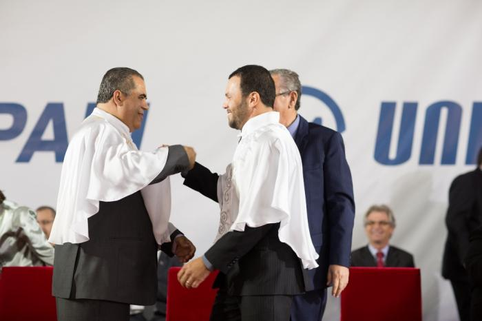 Reitor e Vice-Reitor do UNIPAM tomam posse na cidade de Patos de Minas