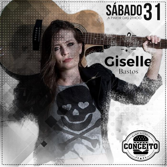 Conceito Hamburgueria apresenta neste sábado (31) a cantora gaúcha Giselle Bastos