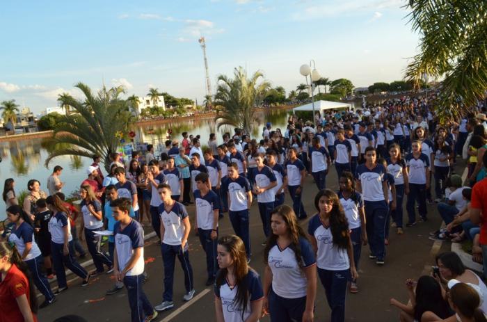 10ª caminhada cívica cultural e militar é realizada com sucesso na cidade de Lagoa Formosa em comemoração ao dia da independência