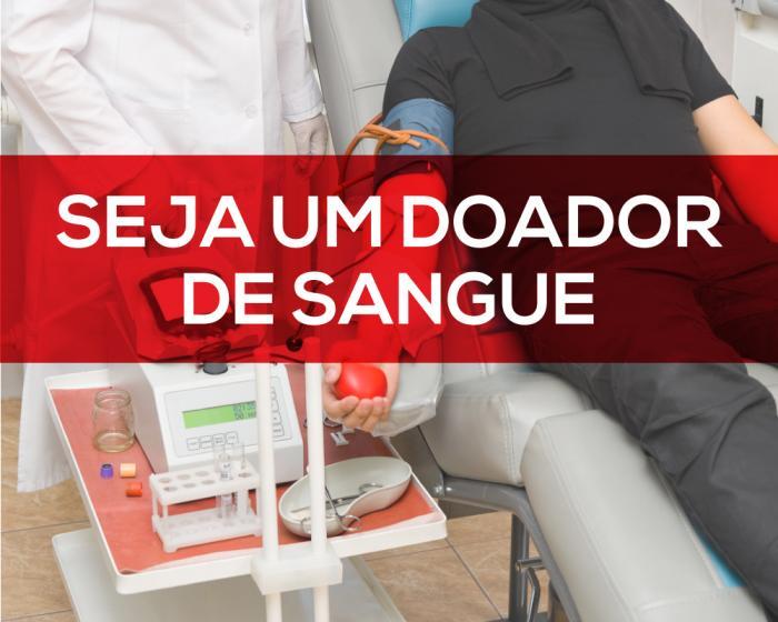 Junho Vermelho: Alerta para que população se sensibilize quanto a doação de sangue
