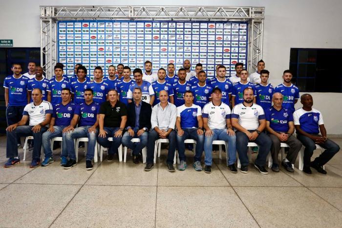 URT de Patos de Minas apresenta elenco que inicia pré-temporada visando o campeonato mineiro de 2017