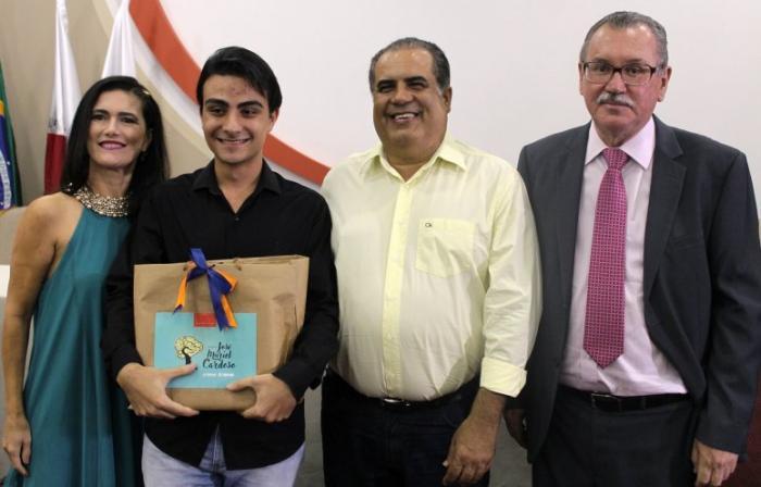 UNIPAM de Patos de Minas entrega o prêmio José Muriel Cardoso