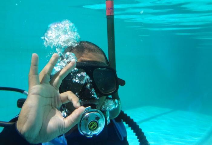 Alto Paranaíba tem campo para mergulho