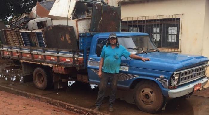 Micro empreendedor de Lagoa Formosa fala sobre trabalho com reciclagem e seus benefícios