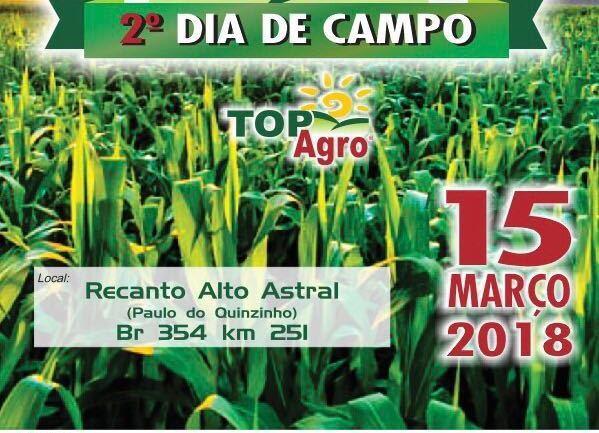 TopAgro realiza segunda edição do Dia de Campo no Sítio Alto Astral