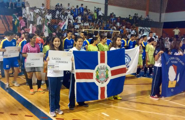 Etapa Microrregional dos Jogos Estudantis de Minas Gerais é aberta na cidade de Patos de Minas