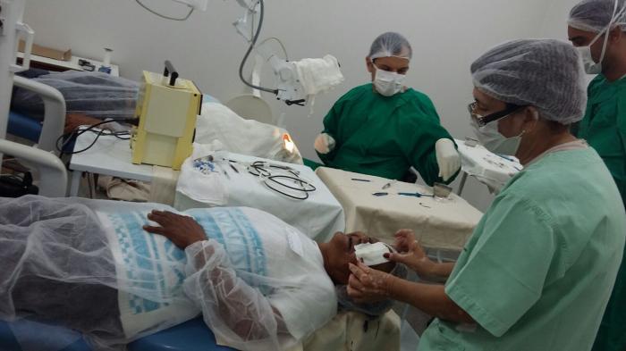 Primeiro Mutirão de Cirurgias de Cataratas e Piterígio de 2017 acontece em Lagoa Formosa