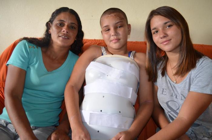 Adolescente vítima de gravíssimo acidente em Lagoa Formosa fala de sua milagrosa recuperação
