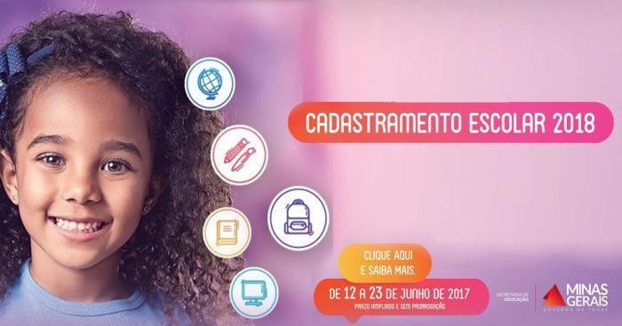 Pela Internet: cadastramento escolar na rede pública em Lagoa Formosa acontece até a próxima sexta-feira (23)