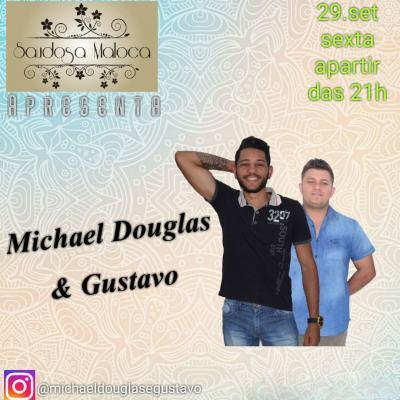 Dupla Michael Douglas e Gustavo se apresenta nesta sexta (29/09) na Saudosa Moloca