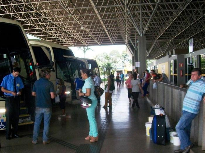 Movimentação na rodoviária de Patos de Minas aumenta na véspera do feriado de 7 setembro