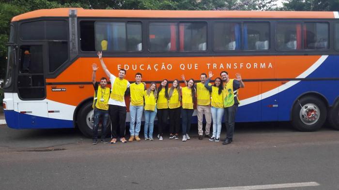 Alunos Do Projeto Rondon Embarcam Para Divinópolis no estado do Tocantins