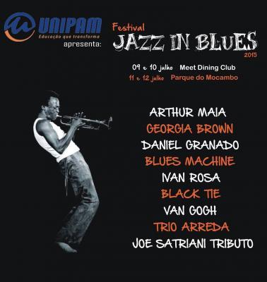 Começam nesta quinta-feira as atrações do Festival Jazz In Blues na cidade de Patos de Minas