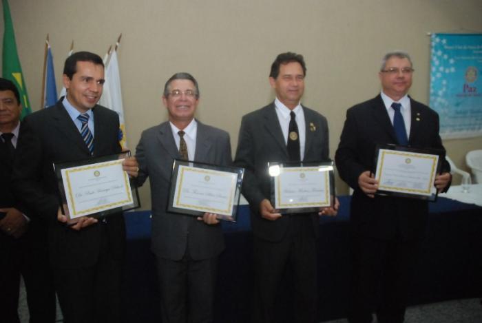 Empresários Rotarianos são homenageados em Patos de Minas
