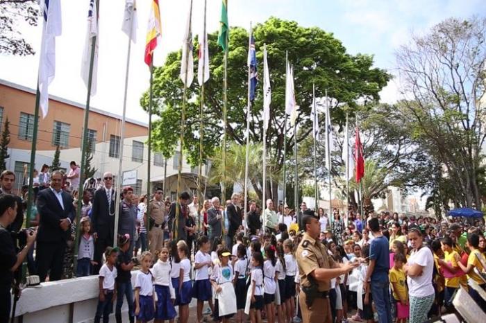 Sessão cívica comemora o Dia da Independência em Patos de Minas