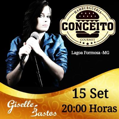 Conceito Hamburgueria apresenta nesta sexta (15/09) a cantora patense Gisele Bastos