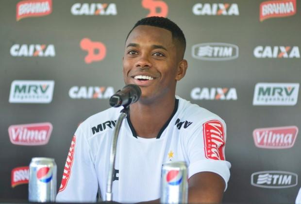 Jogdor Robinho será uma das grandes atrações do jogo entre Atlético e URT neste Sábado (26) na cidade de Patos de Minas