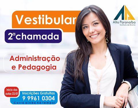 Instituto Alto Paranaíba abre inscrições para o vestibular agendado em Lagoa Formosa e Presidente Olegário