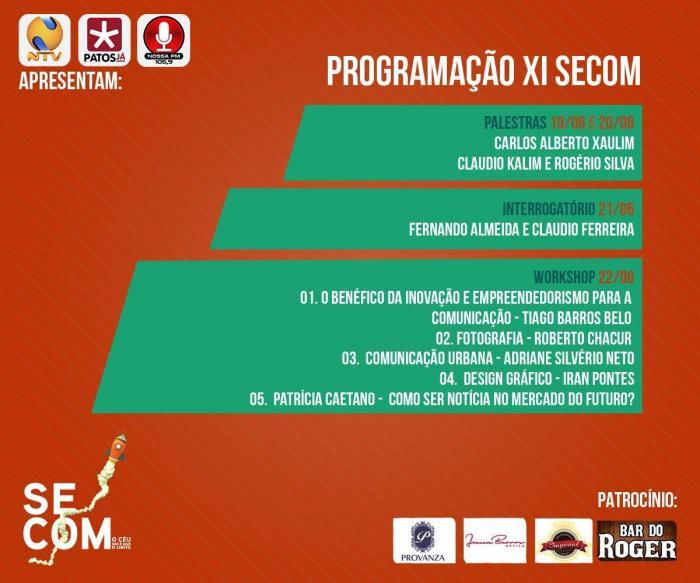Alunos do Curso de Publicidade e Propaganda do UNIPAM realizam mais uma edição do SECOM