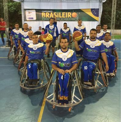 Equipe APP/UNIPAM/DB de Basquete sobre Rodas participa de Campeonato Brasileiro