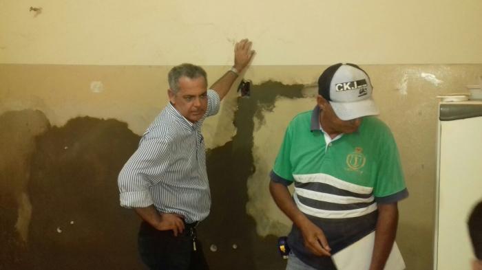 Reformas do Posto Médico de Lagoa Formosa para receber Hospital Municipal estão em processo acelerado
