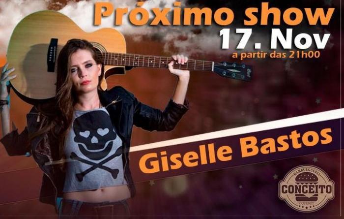 Conceito Hamburgueria apresenta nesta sexta (17/11) a cantora Giselle Bastos