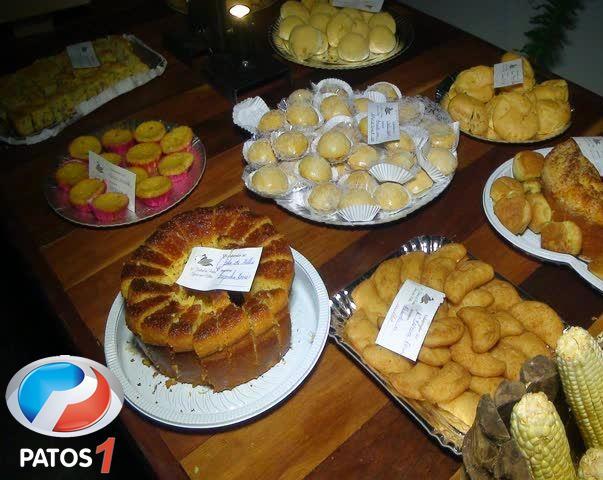 Festival de pratos típicos com milho é realizado no Parque de Exposições em Patos de Minas