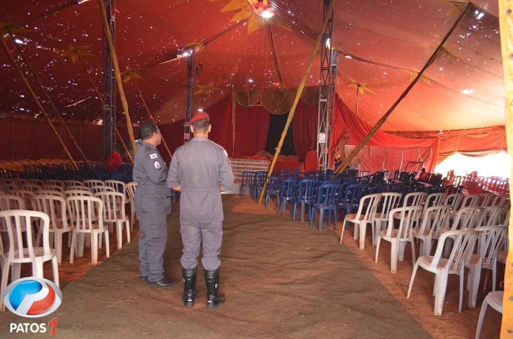 Circo Castelli estréia nesta sexta-feira (07) na cidade de Lagoa Formosa com inúmeras atrações