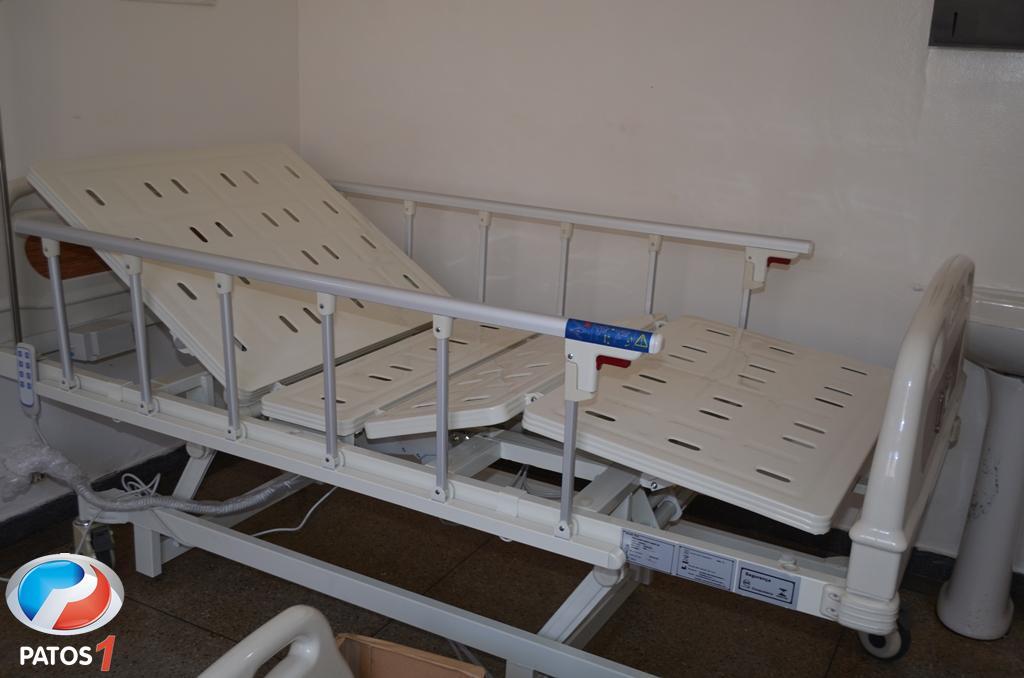 Pronto Atendimento de Lagoa Formosa recebe 10 camas hospitalares automáticas