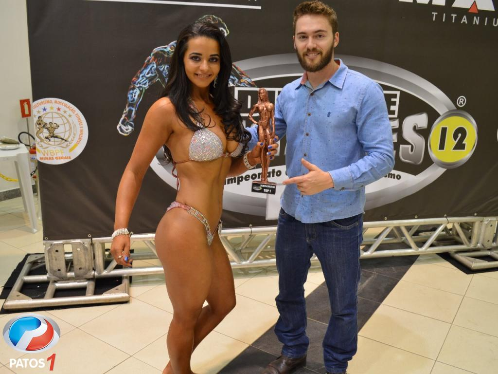 Atleta de Lagoa Formosa conquista troféu em torneio de fisiculturismo realizado em Uberlândia