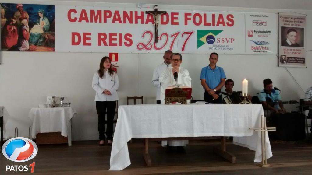 Campanha de Folia Reis 2018 na cidade de Patos de Minas é aberta oficialmente