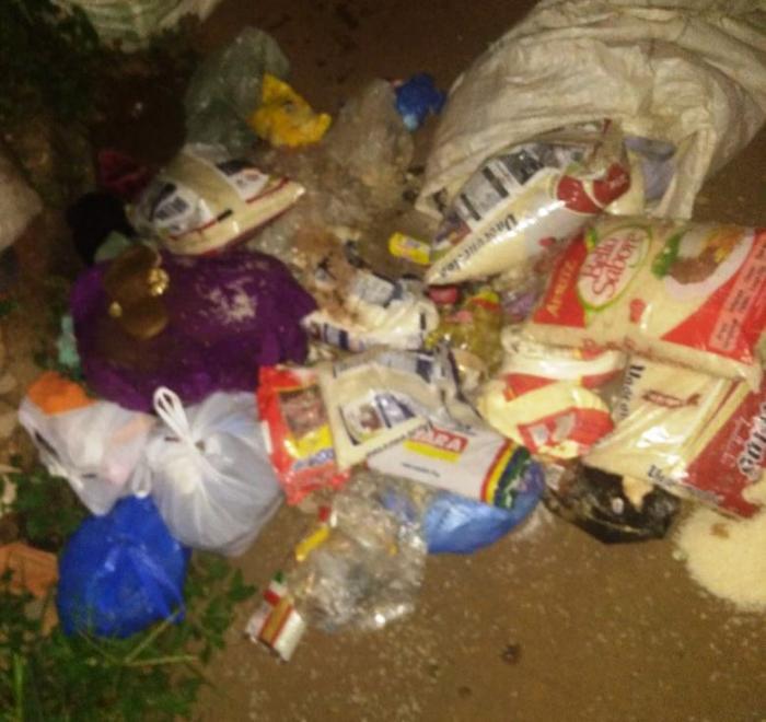 Família carente de Lagoa Formosa joga alimentos ganhados no lixo e revolta população