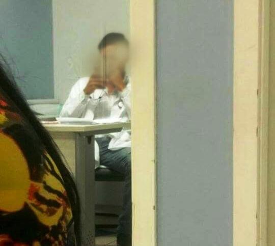 Médico é flagrado em Patos de Minas usando celular enquanto pacientes esperavam por atendimento na UPA III