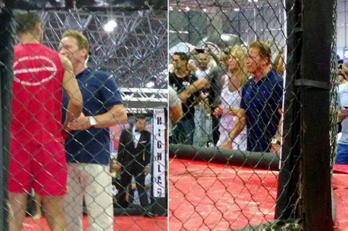 Lutadores da cidade de Patos de Minas vencem no Arnold Classic e foram parabenizados por Arnold Schwarzenegger