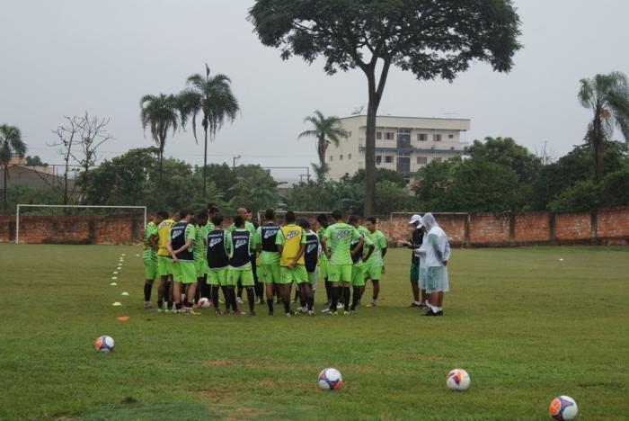 Último treino do Mamoré antes do jogo contra o galo foi no Estádio Otacílio Mundim em Lagoa Formosa