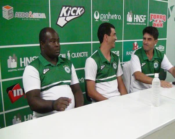 Diretoria do Esporte Clube Mamoré apresenta novo treinador para temporada 2016