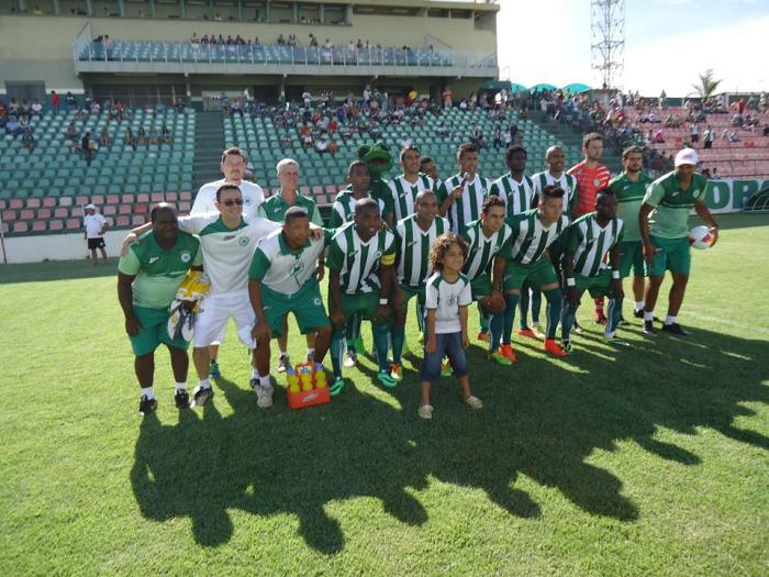 Mamoré e CRAC de Catalão empatam em amistoso realizado no estádio Bernardo Rubinger de Queiroz em Patos de Minas