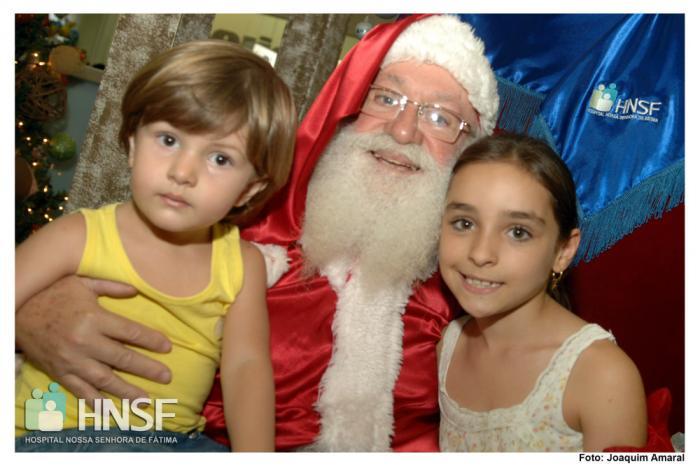HNSF faz promoção de natal no Pátio Central Shopping