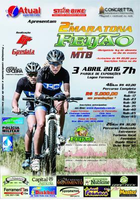 2° Maratona do Feijão de MTB acontece neste Domingo (03/04) em Lagoa Formosa