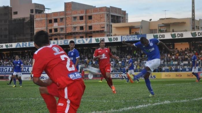 URT deixa escapar vitória no estádio Zama Maciel no último minuto de jogo e agora tem pela frente o atlético mineiro