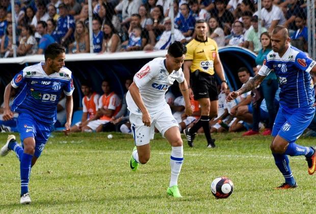 URT segura o Cruzeiro em Patos de Minas arranca empate e se mantém invicta no campeonato mineiro