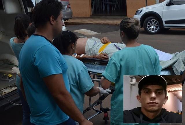 Errata: Estado de saúde de vítima de acidente em Lagoa Formosa é grave e paciente continua em coma induzido