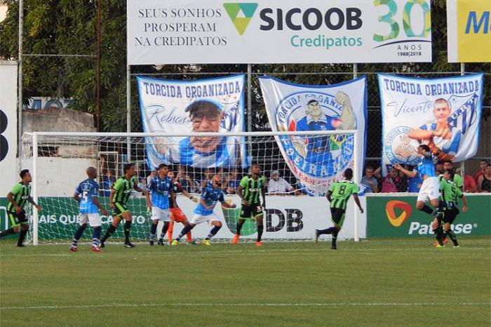 URT empata com o América em Patos de Minas e assume a vice liderança do campeonato mineiro