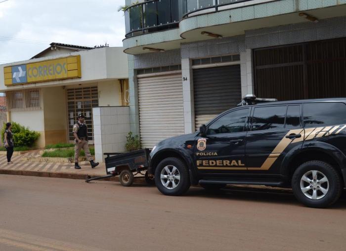 Polícia Militar impede bandidos de arrombarem agência dos Correios em Lagoa Formosa
