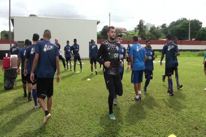 Jogadores da URT treinam forte e buscam garantir posições para o campeonato mineiro