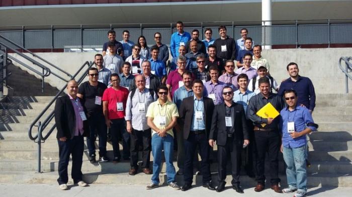 Representantes do UNIPAM visitam feira internacional no estado de São Paulo